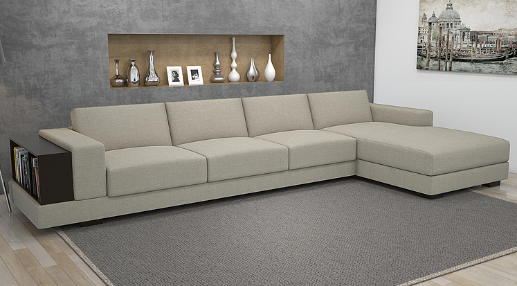 vanity big lounger sofa